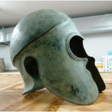 Chalcidian helmet, bronze – 3rd c. BC