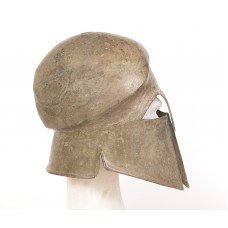 Corinthian helmet, bronze – 5th c. BC